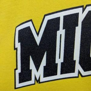 Vintage Shirts - Vintage 90's University of Michigan TShirt
